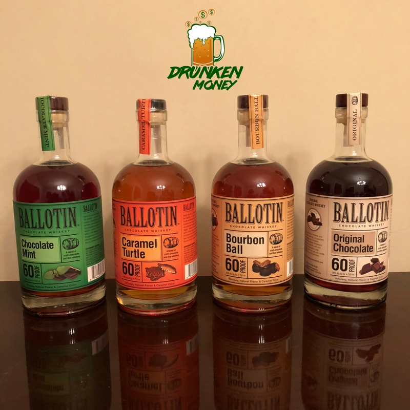 Chocolate Takeover with Ballotin Chocolate Whiskey